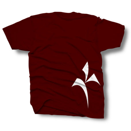 T-Shirt|Maroon|Made in USA|
