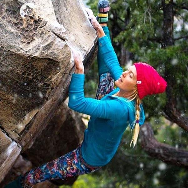 Climber Rock Climbing Bouldering Chalk Bag with Waist Belt Strap Navy Blue